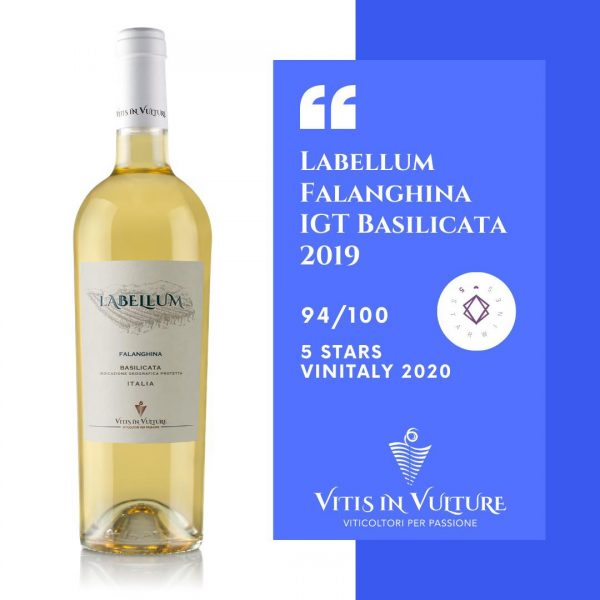 5 stars vinitaly falanghina vitis in vulture